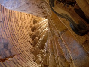 Minaret of Jam - inside