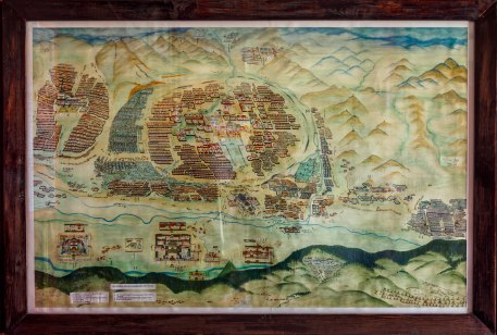 Old Map of UB