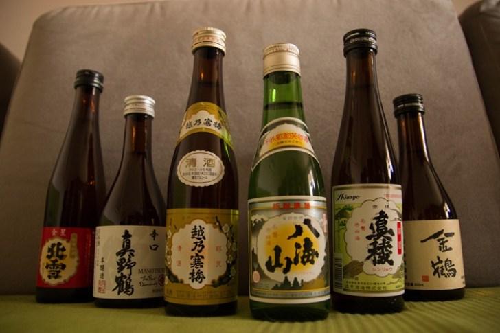 お寿司と言えば日本酒だよね
