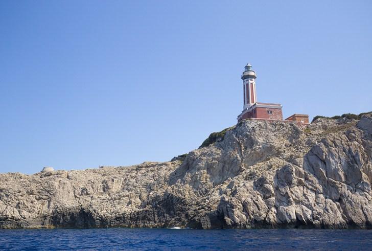 カプリ島 灯台