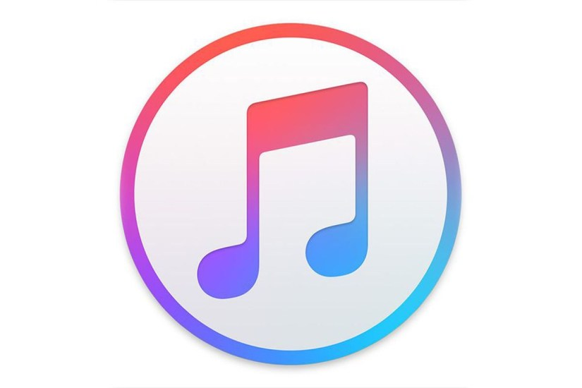 Apple music logo.