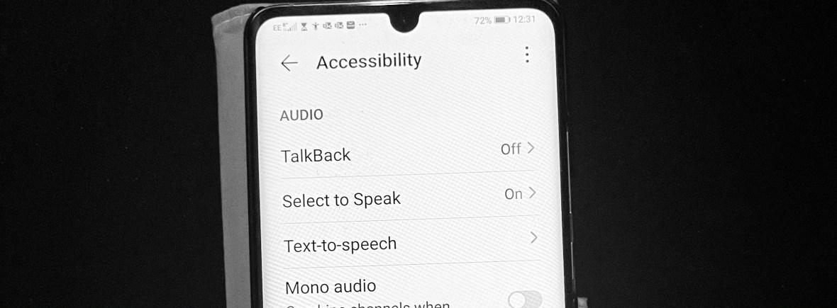 TalkBack Screen