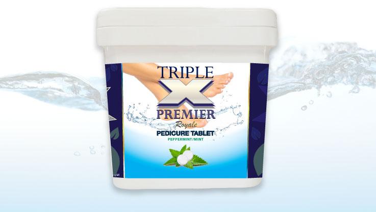 Cory Laboratories Triple XXX Premier Spa/Pedicure Tablets