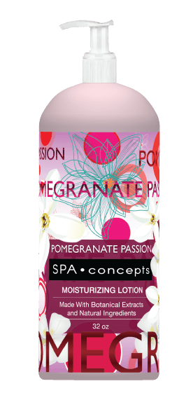 Spa Concepts: Pomegranate Passion Body Lotion