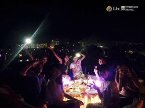 菲律賓遊學下課後的生活,聚餐