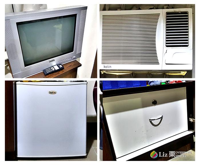 CELI學校,房間設備,冷氣,電視,冰箱,可以上鎖的櫃子