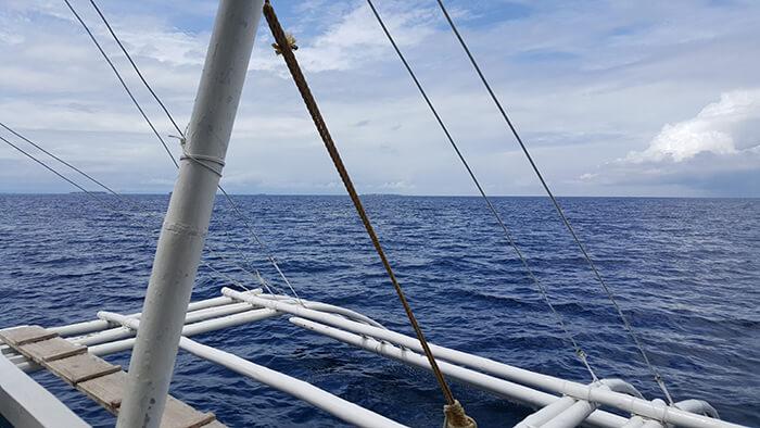 蔚藍的大海