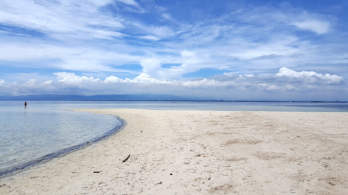 資生堂島,沙灘
