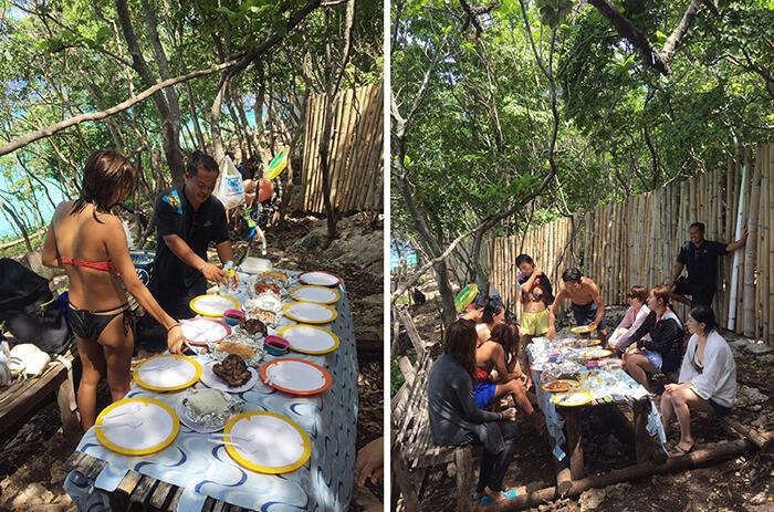 菲律賓,飲食,跳島午餐