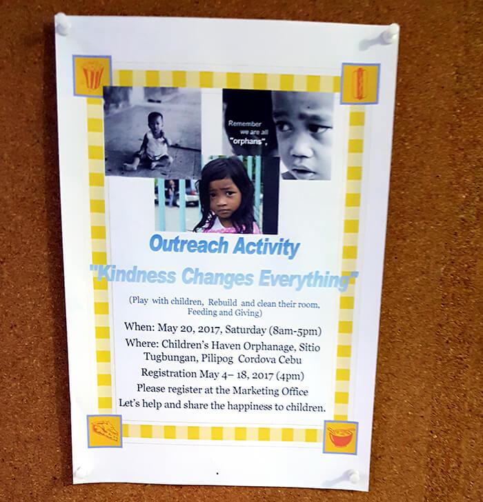 Outreach Activity