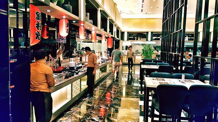 buffet101-內部裝潢,餐廳