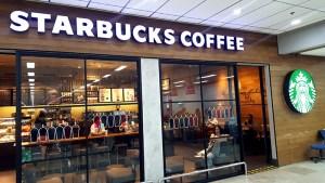 宿霧機場-Starbucks coffee