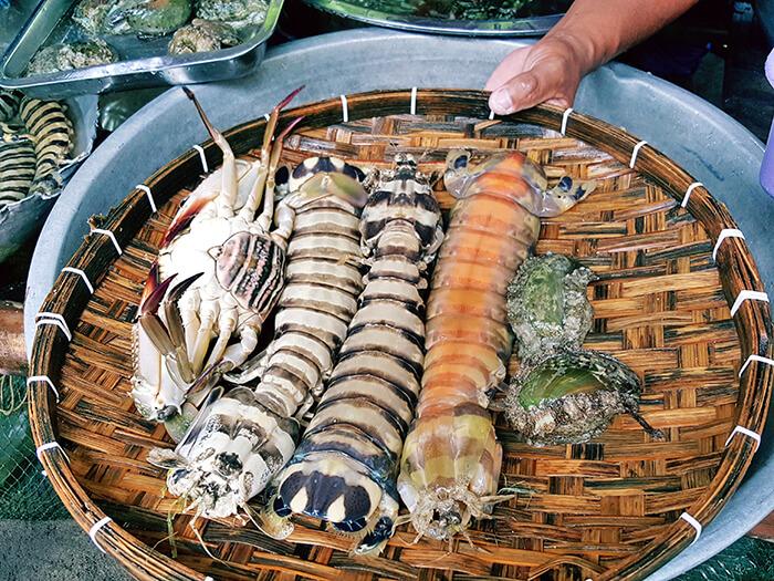 蝦蛄, 螃蟹