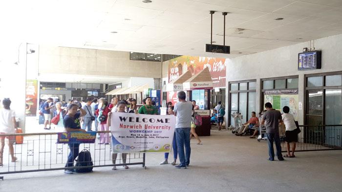 菲律賓遊學,宿霧機場,接機