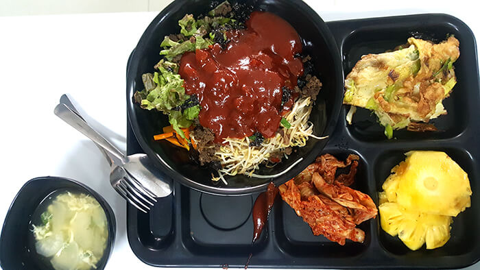 EV語言學校-餐點,韓國料理