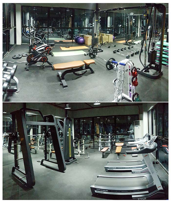 EV-健身房,運動設施