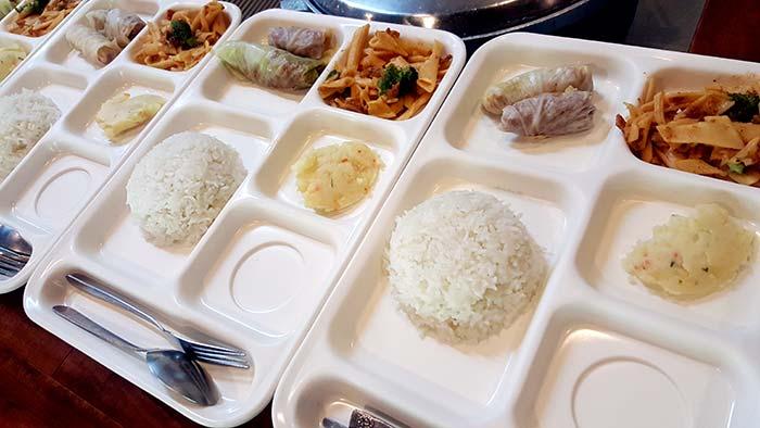 idea academy, 學校餐食