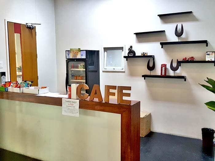 idea academia 語言學校, cafe, 販賣部