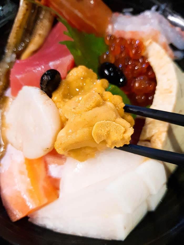 新鮮海膽, 富春食堂, 日日本料理台北推薦