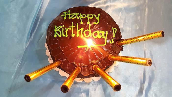 慶生, 生日快樂, 生日蛋糕