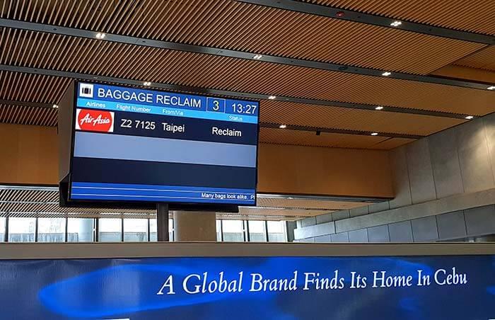 菲律賓亞洲航空, 宿霧機場, 第二行廈, 新航廈, 菲亞航