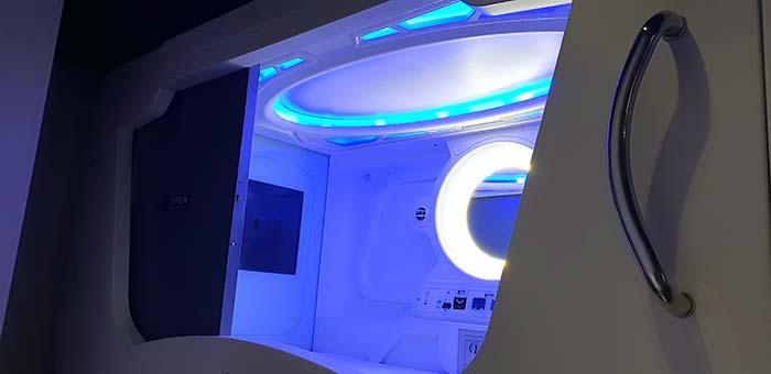太空艙旅館, 三重,