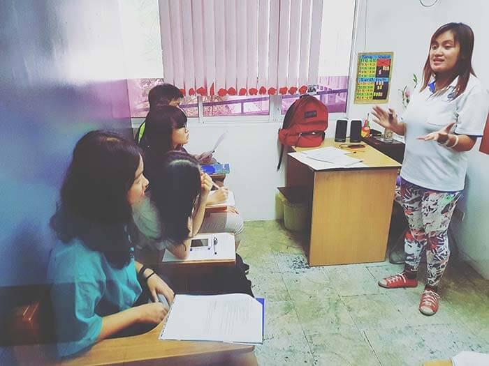 團體課上課