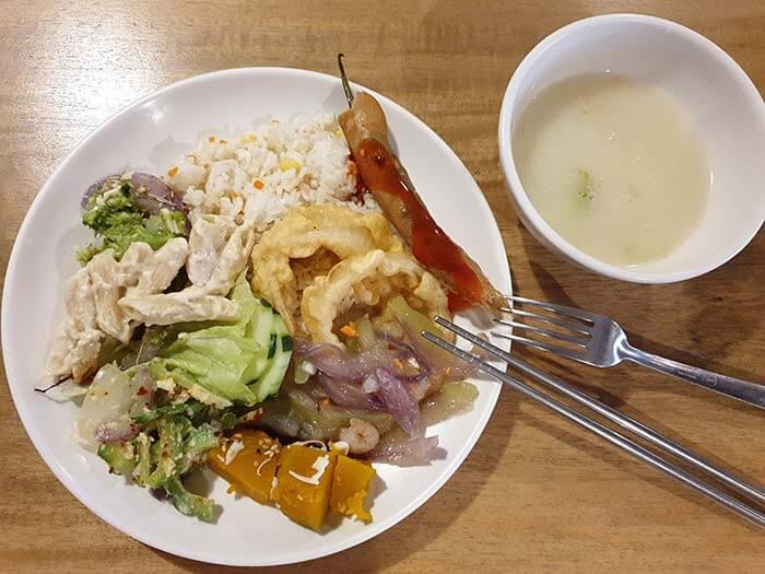 EV學校吃得如何, 餐飲, 餐食, 學校伙食