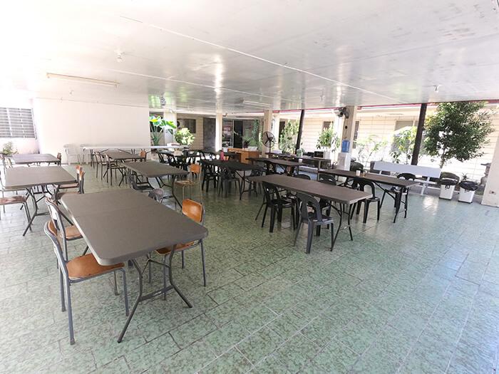 學校用餐環境, 校內環境空間