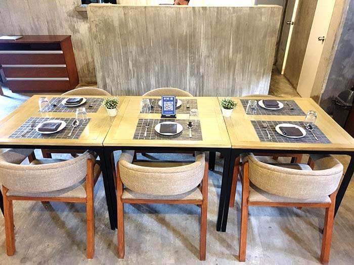 Wok餐廳位置- 6人座