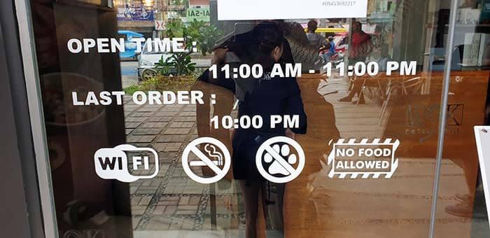 Wok餐廳營業時間