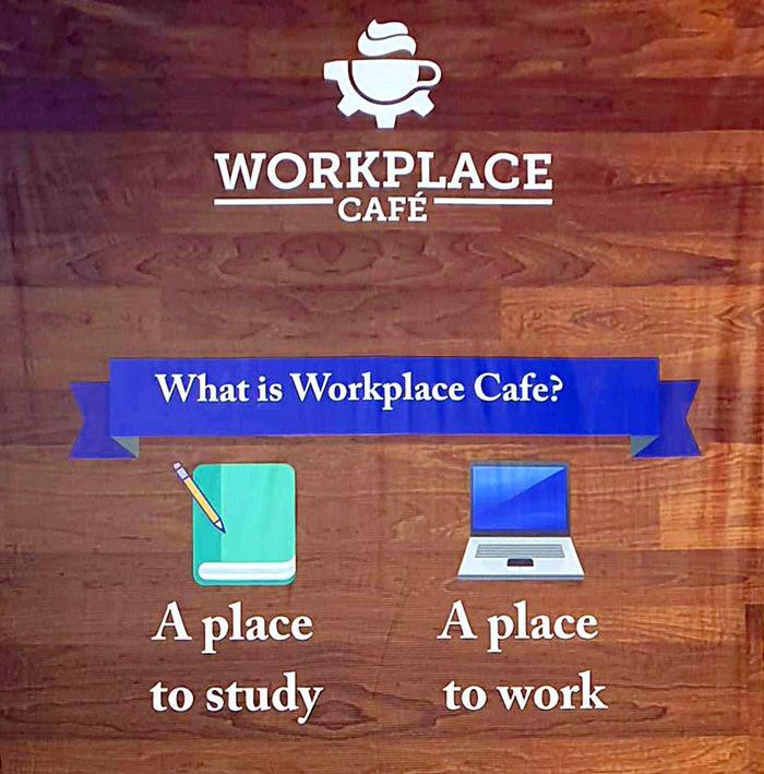 Workplace cafe, 推薦給想要讀書, 工作的人, 網路好, 安靜的咖啡廳