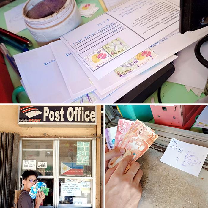 宿霧寄明信片回台灣, Post Office, 宿務郵局