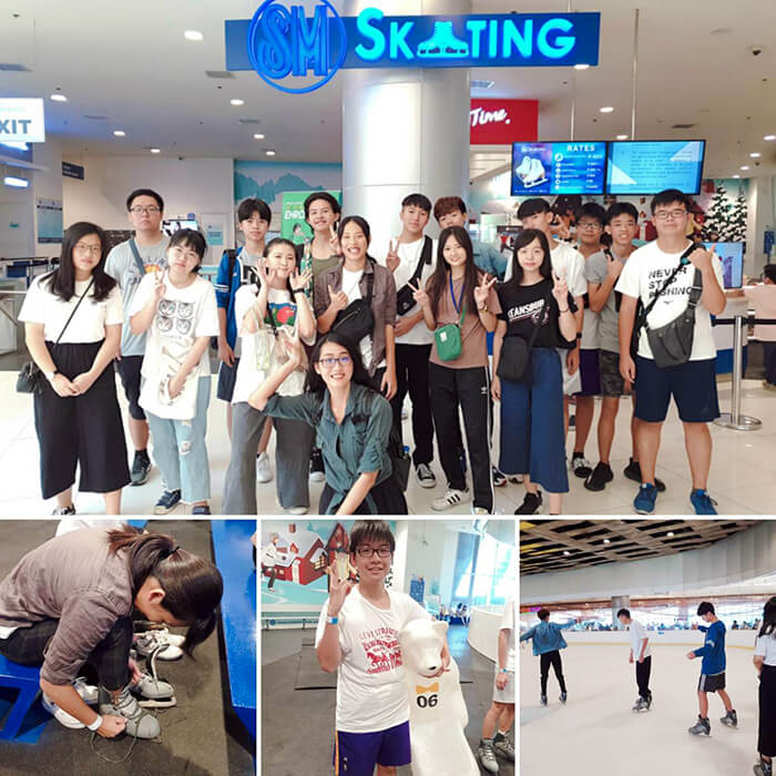 SM Seaside, SM Skating, 宿霧滑冰, 百貨溜冰
