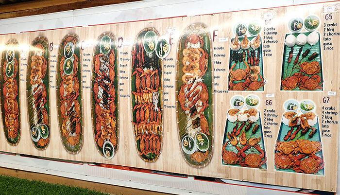套餐, 螃蟹, 飯, 蝦子, BBQ