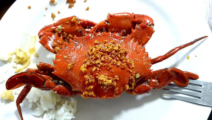 螃蟹先生, 菲律賓宿務, 好吃螃蟹