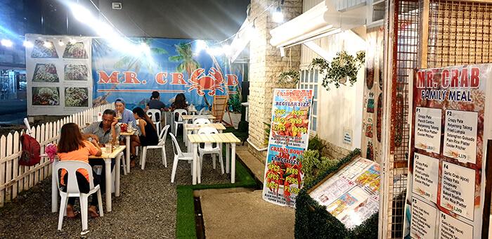 宿務螃蟹餐廳, 用餐環境, 靠近Capital