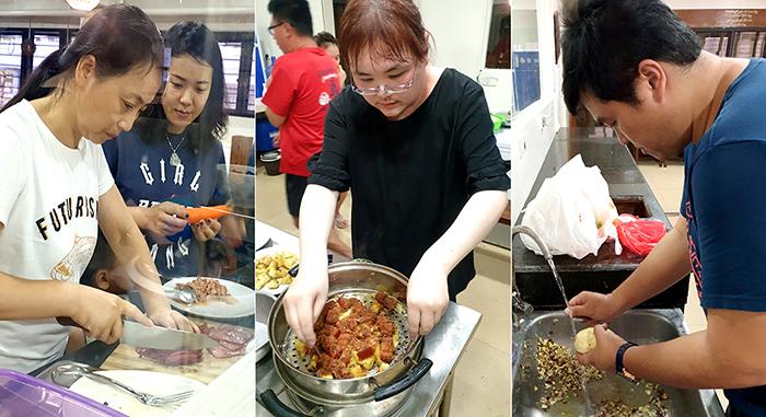 烹飪活動, WYL校內活動