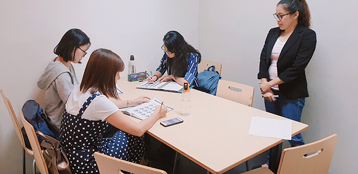 宿霧留學, 團體課教室