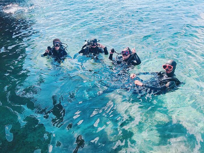 宿霧潛水, 宿霧潛水課程推薦, 薄荷島潛水
