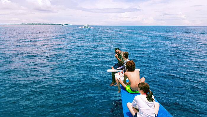 菲律賓遊學, 假日行程安排