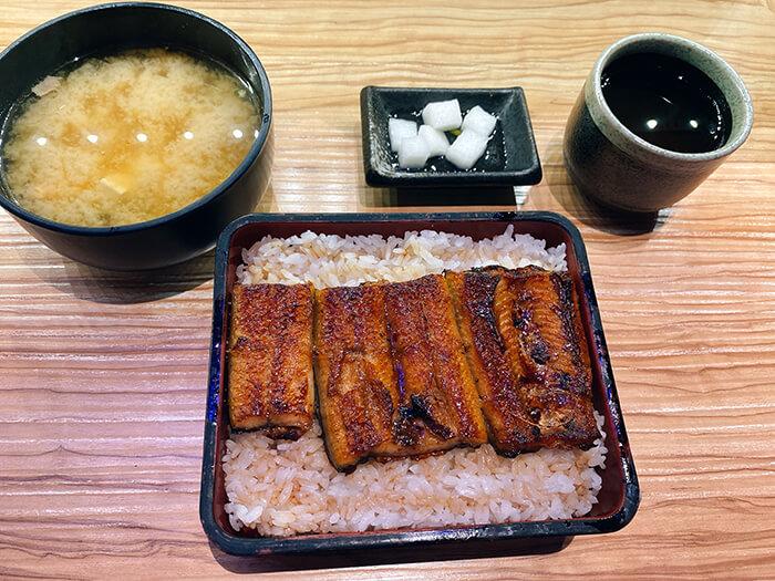 鰻魚飯套餐, 味增湯