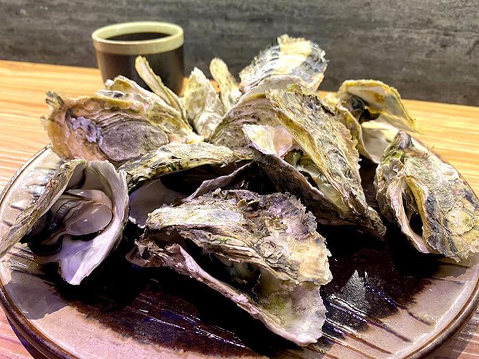 生蠔, 三重日本料理店
