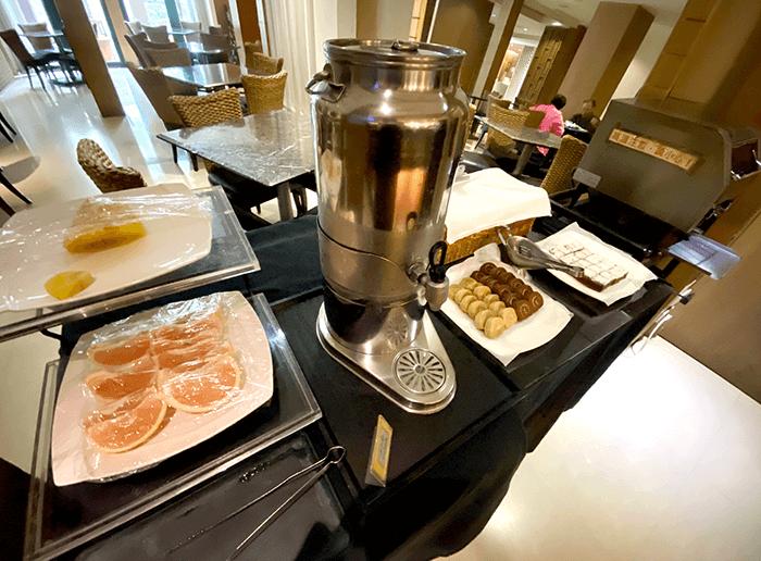 山樂溫泉住宿, 早餐種類