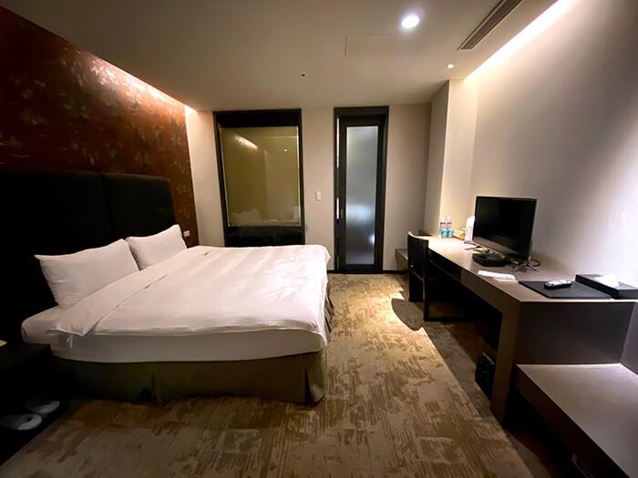 山樂溫泉住宿, 房型, 環境