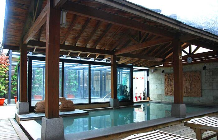 台北溫泉住宿,山水樂溫泉會館