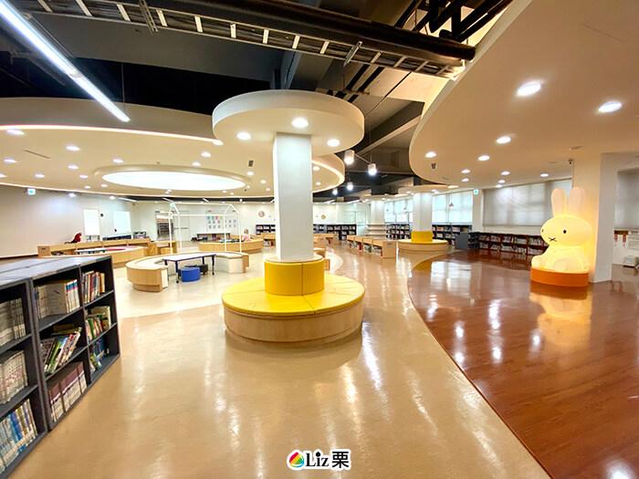三重親子圖書館,三區分館,兒童閱讀區
