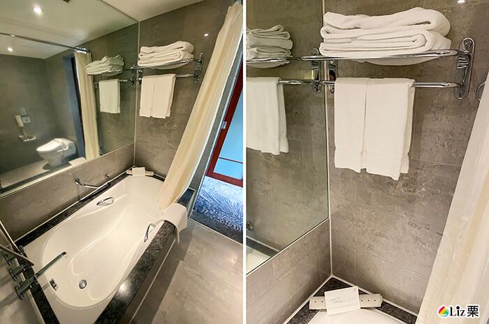 浴缸,毛巾,浴巾