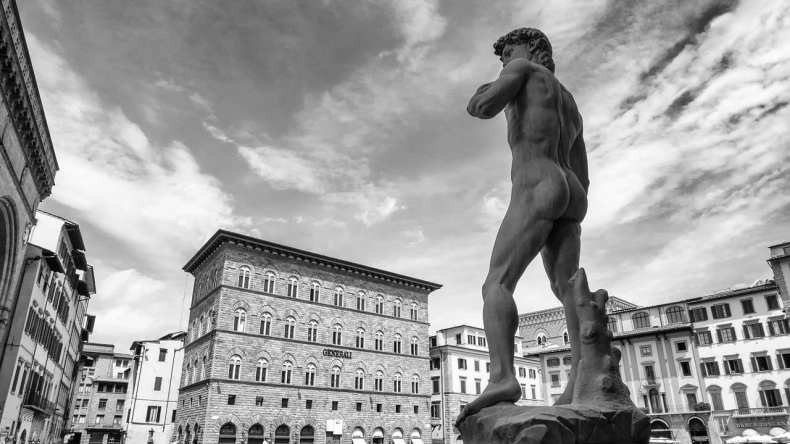 David statue in Florence