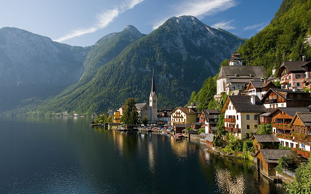A View of Hallstatt town